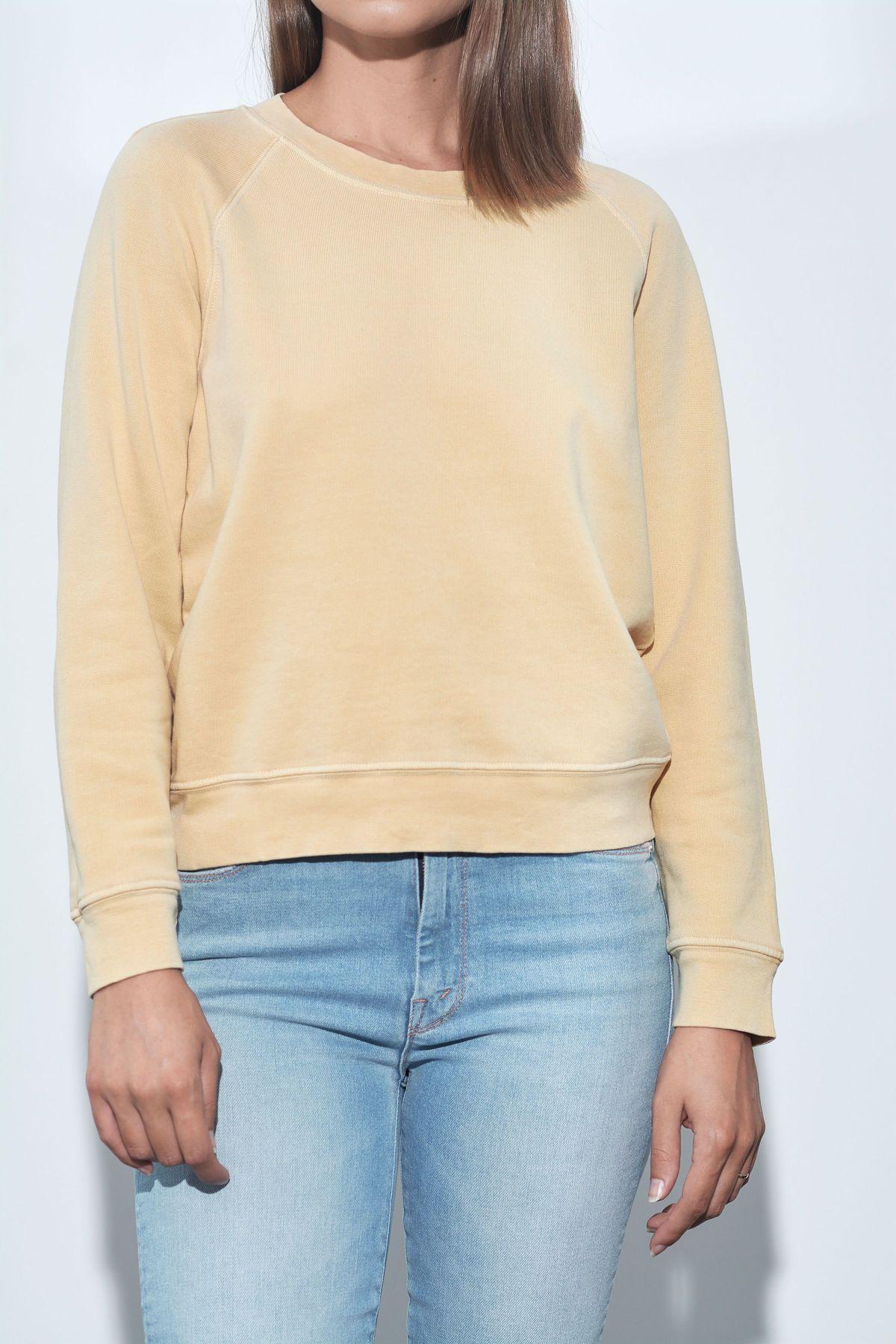 Stateside French Terry Raglan Sweatshirt - Daisy