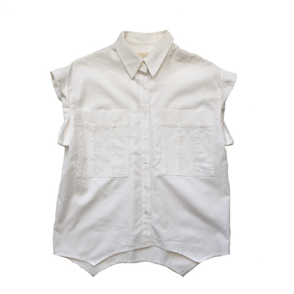 EVE GRAVEL PEACH Shirt- Cream