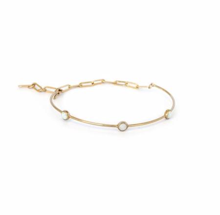 Thatch Suki Bracelet - 3 Opals/14k Gold