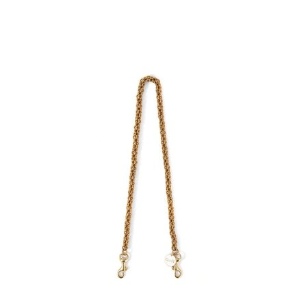 Clare V. Thick Chain Shoulder Strap - Brass