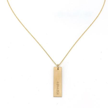 Becoming Atwater Necklace - Gold