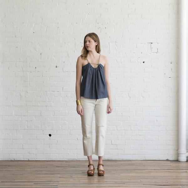 A Detacher Tina Top Denim - SOLD OUT