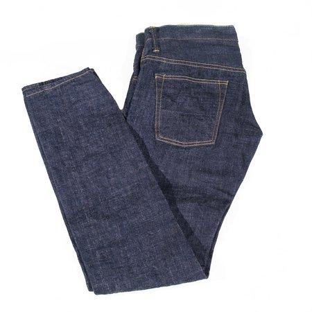 Tanuki ZDT Zetto Draft Tapered Jeans - Blue