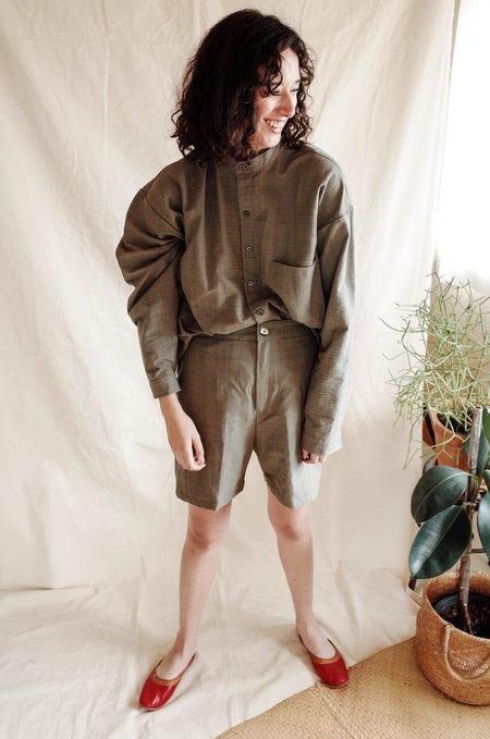 Unisex Seeker x Retriever Signature Shorts - Grey