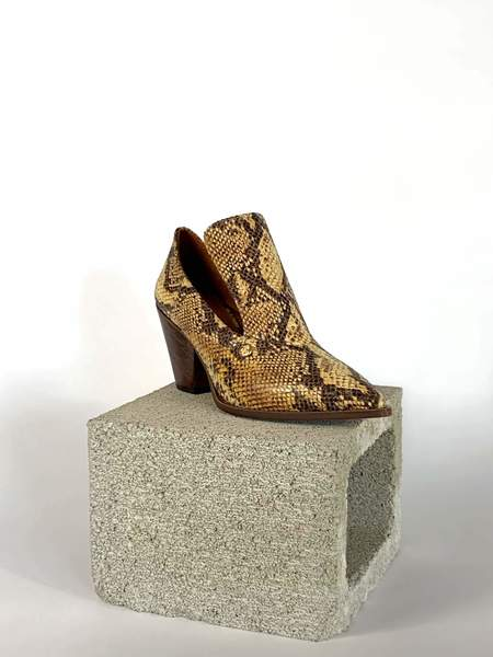 Taylor + Thomas Marianne Shoes - Golden Python