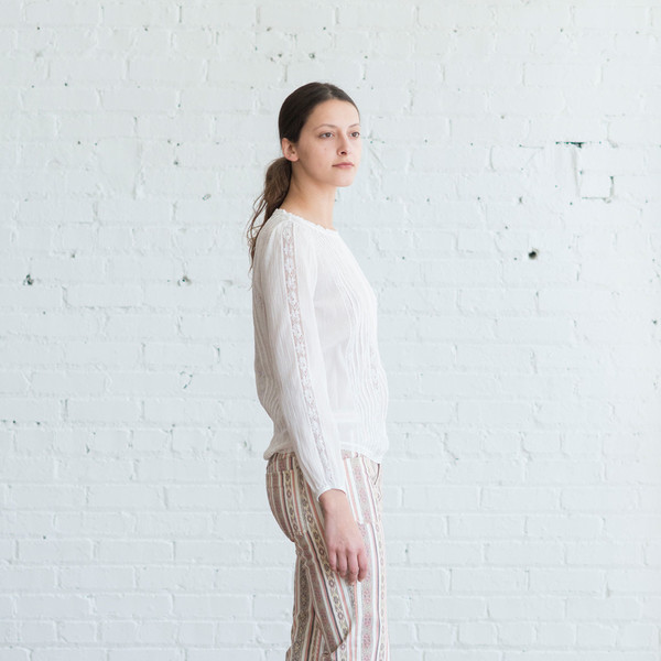 Isabel Marant Etoile Mayra Top White - SOLD OUT