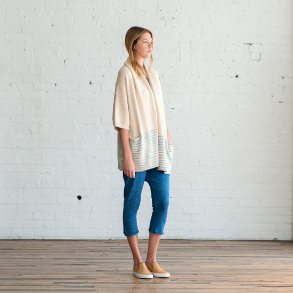 Lauren Manoogian Block Shawl Cardigan - SOLD OUT