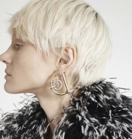 Demarson Dema Earrings - Gold