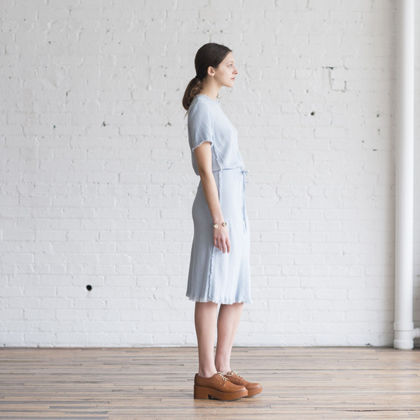 Raquel Allegra Bias Tee Dress