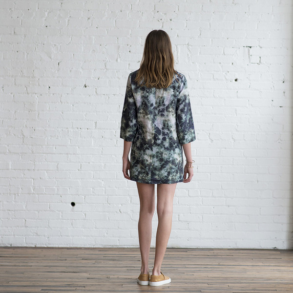 Raquel Allegra Cosmos Print Shift Dress - SOLD OUT