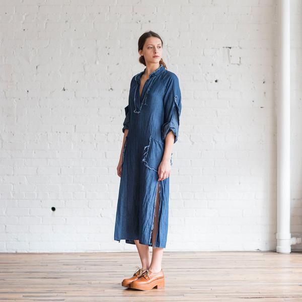 Raquel Allegra Denim Tunic Dress