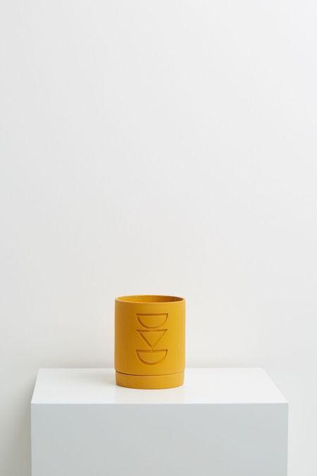 Capra Designs Etch Planter - Golden