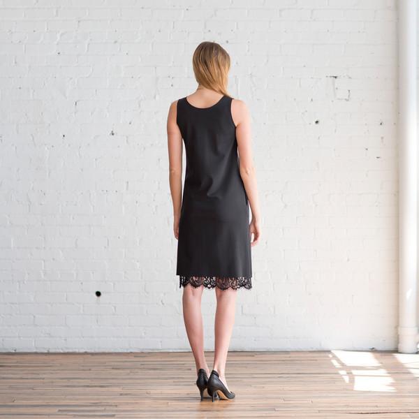 Tome Ponti V-Neck Dress Black