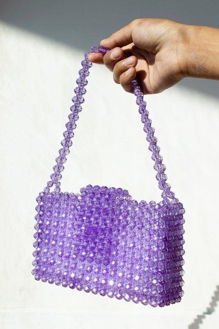 Susanna Chow Erin Beaded Bag - Orchid