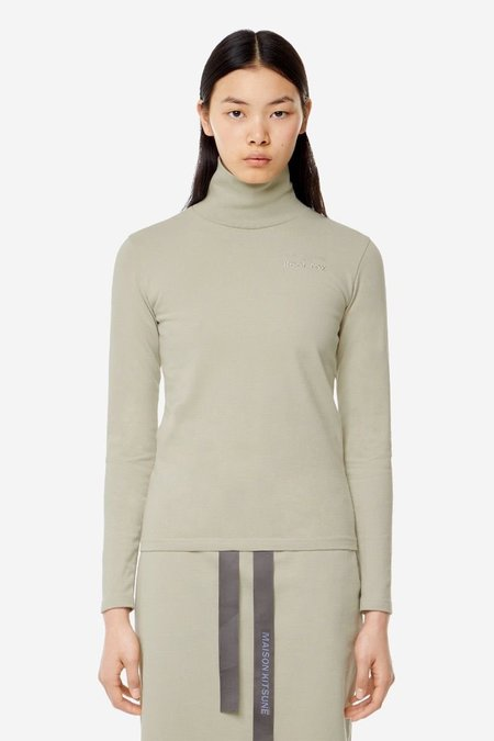 Kitsune Turtleneck - Beige