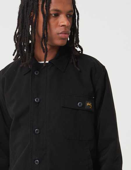 Stan Ray A2 Deck Jacket - Black Twill