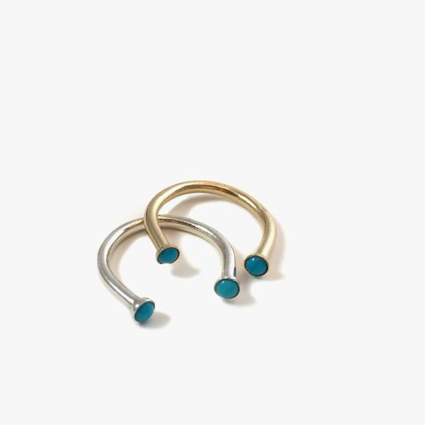 Giantlion Open Stone Ring