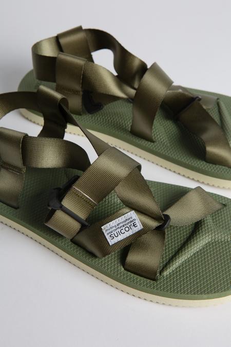 Suicoke CHIN2 Cab Sandal - Olive