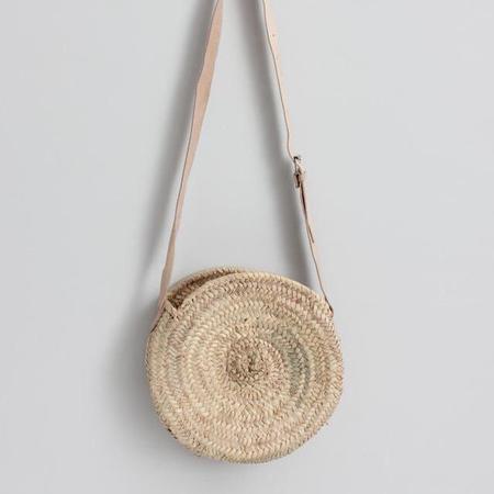 Bohemia Wholesale Round Moroccan Crossbody Basket