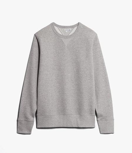 Merz B. Schwanen Loopwheeled Crewneck Sweatshirt - Grey