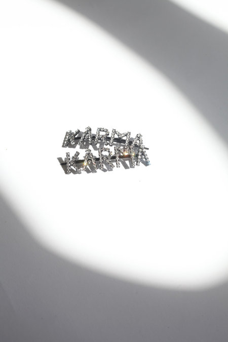 ASHLEY WILLIAMS Karma Hairpins - Silver/Crystal