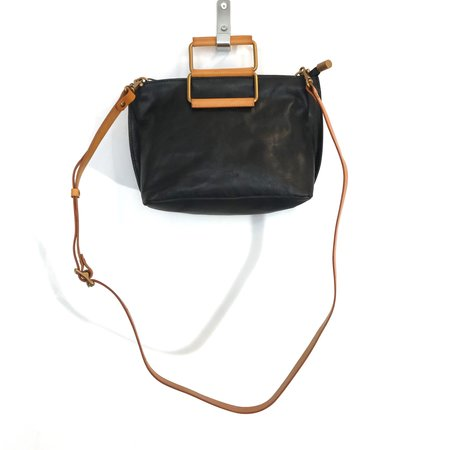 'Joy Handle Bag Small' -Black