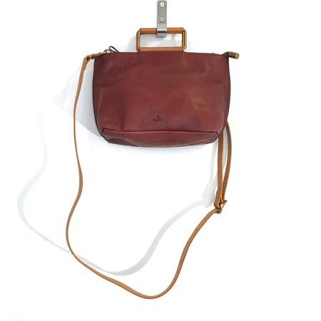 Uppdoo Joy Handle Bag - Oxblood