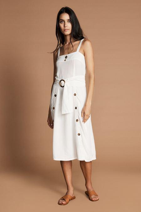SANCIA Louna Dress - White
