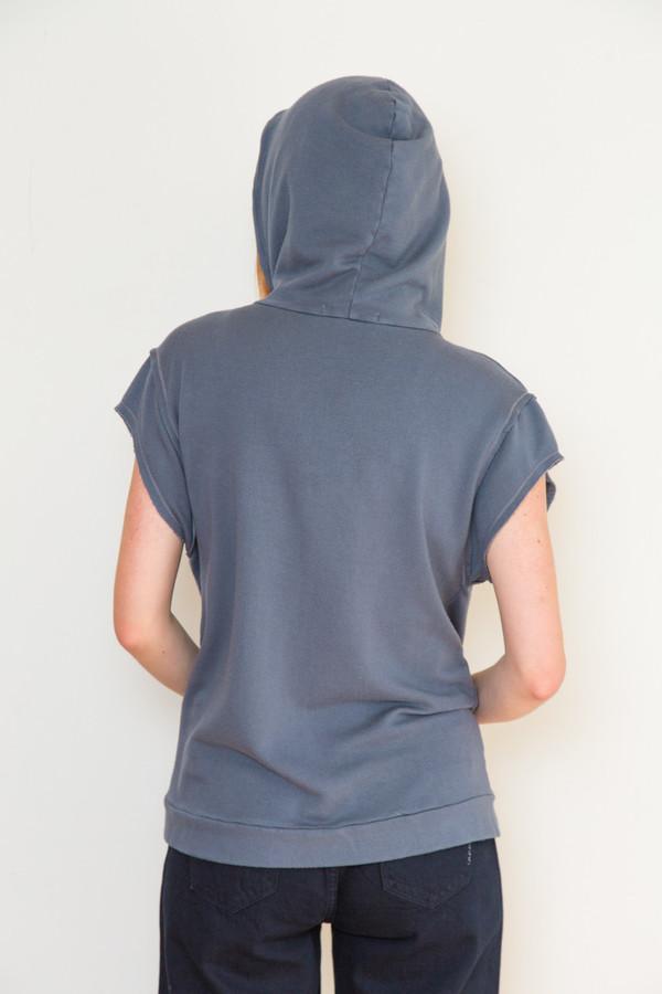 Stateside Short Sleeve Hooded Sweatshirt