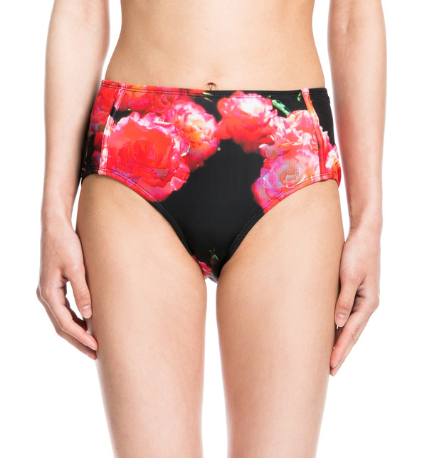 BETH RICHARDS Brigitte Bottom - Spanish Rose CLASSIC HIGH WAIST, HITS BELLY BUTTON