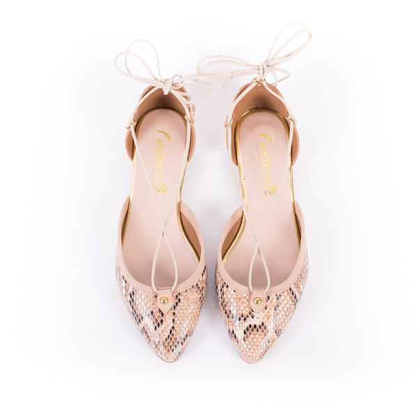 L'Intervalle Vicky Shoes (Snake)