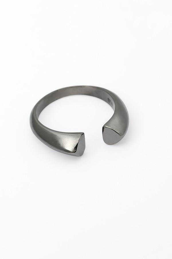 Slight Jewelry Adjustable Size Ring in Black Platinum