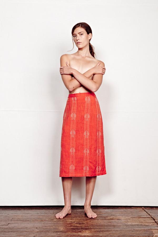 ace & jig reversible gallery skirt in flare