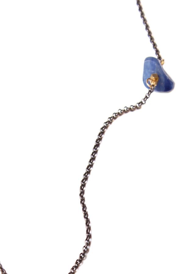 Bloom Kyanite Long Necklace
