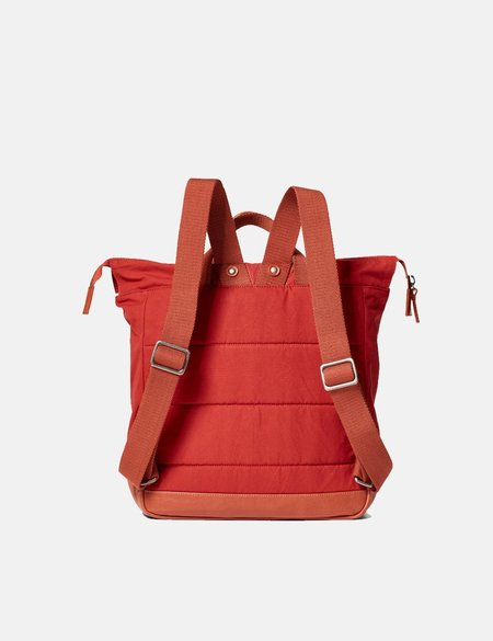 Ally Capellino Frances Hybrid Waxy Rucksack - Brick Red