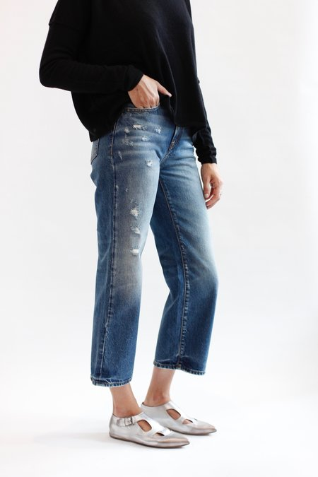 R13 Pan Denim Trouser - Riley Indigo