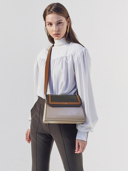 LE MASQUE Call Me Bag B No 41 - Triple Beige/Olive