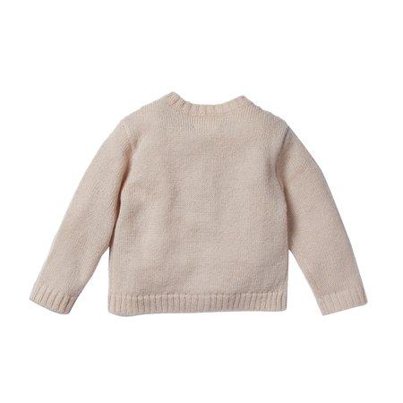 KIDS bonheur du jour mâcha cardigan - rose