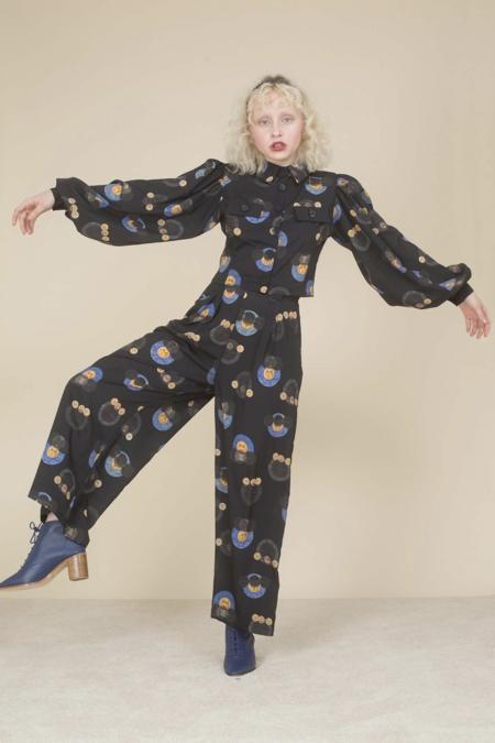 Samantha Pleet Orbit Pants - Olive