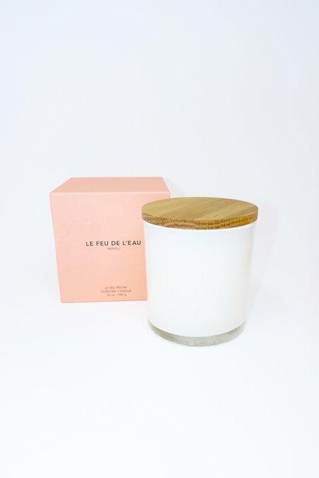 Le Feu De L'Eau Neroli Candle - white