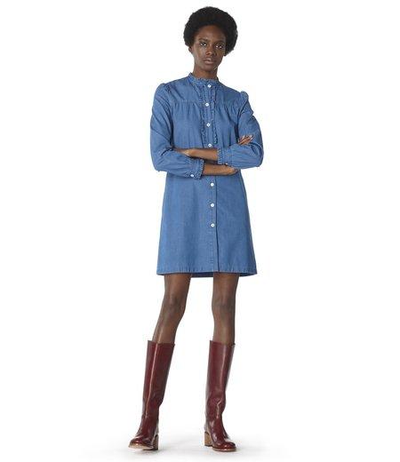 A.P.C. Hoshi Dress - STONEWASHED INDIGO