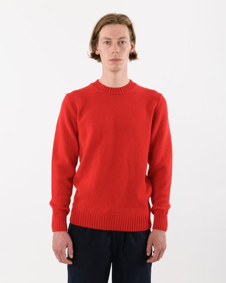 Country of Origin Staple Lambswool Crew