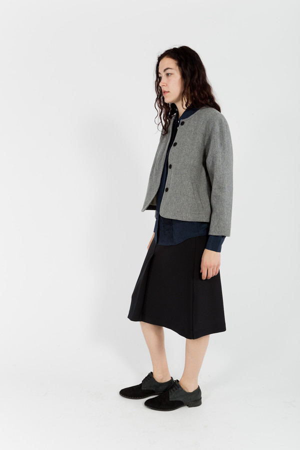 C. Keller Crop Jacket