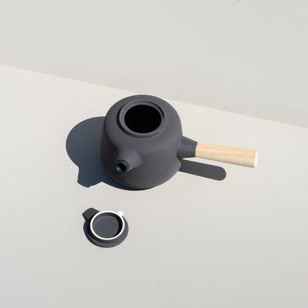 Stelton Collar Teapot - Black