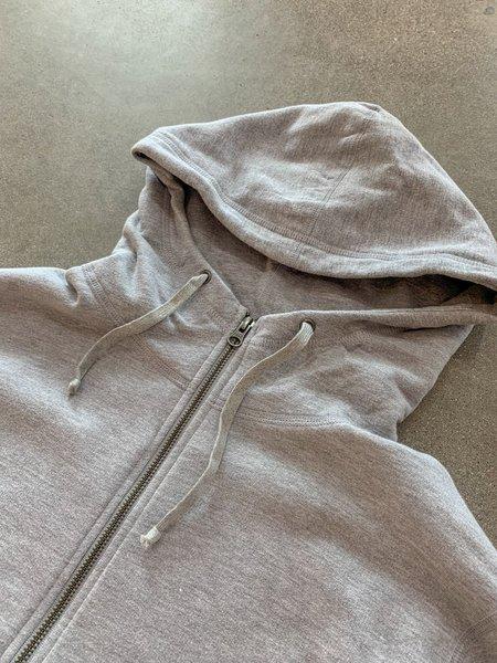 Save khaki United Heather Fleece Zip Hooded Sweatshirt - Heather Grey