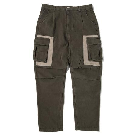 afield out Daybreak Cargo Pant - Army Green