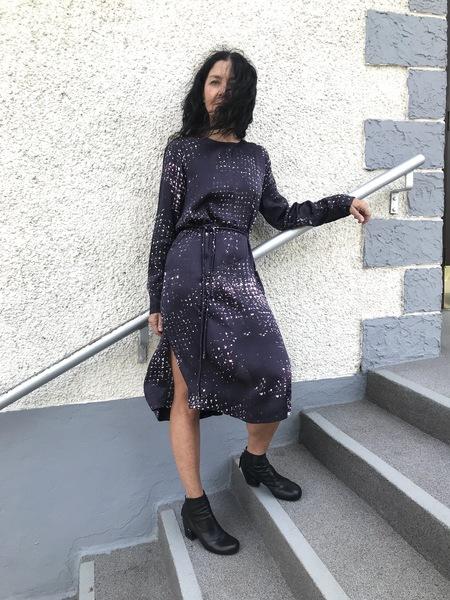 Elk Satellite Dress - Purple