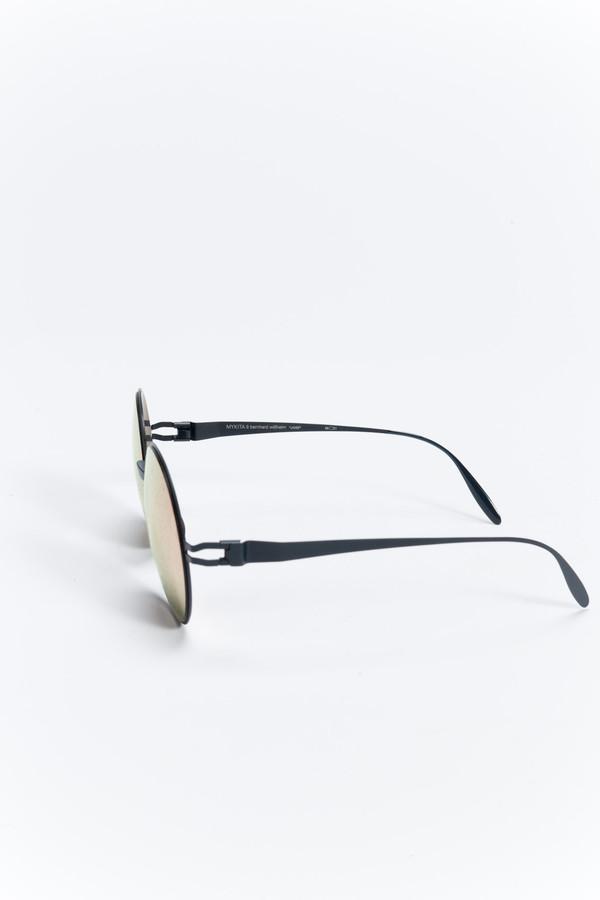 MYKITA Janis Sunglasses Navy Blue/Rosegold