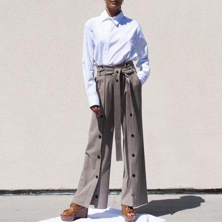 Unisex  Delada Asymmetrical Shirt