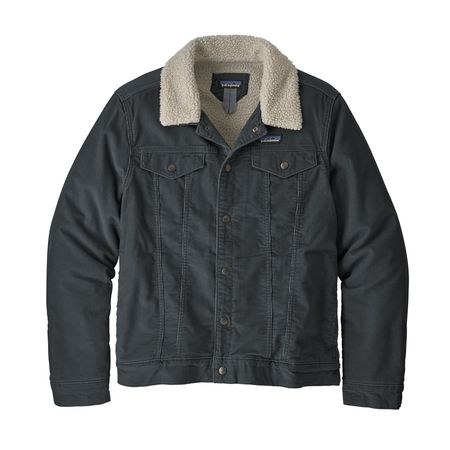 Patagonia Pile Lined Trucker Jacket - Forge Grey